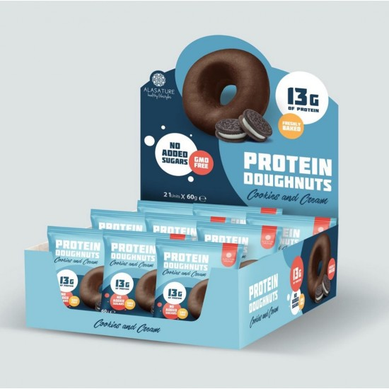 Alasature Protein Donut Triple choco Filling