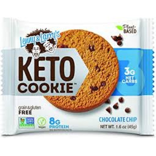 Lenny & Larry's, KETO COOKIE, Chocolate Chip