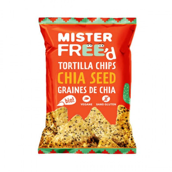 Mister Free'd Tortilla Chips Chia Seed