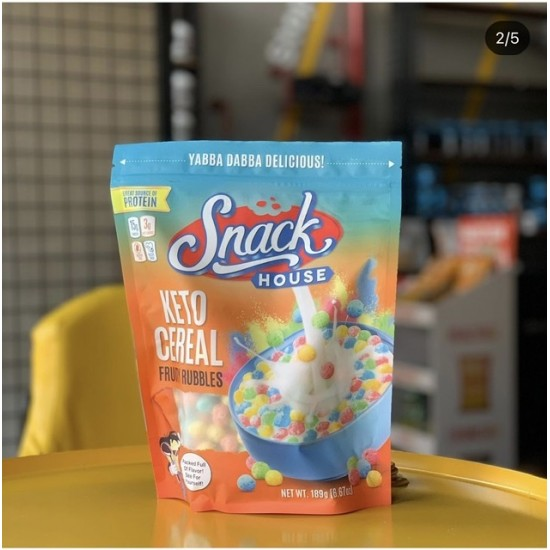 Snack House keto Cereal Fruit Rubbles