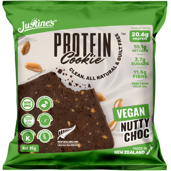 Justines Protein Cookie Nutty chocolate