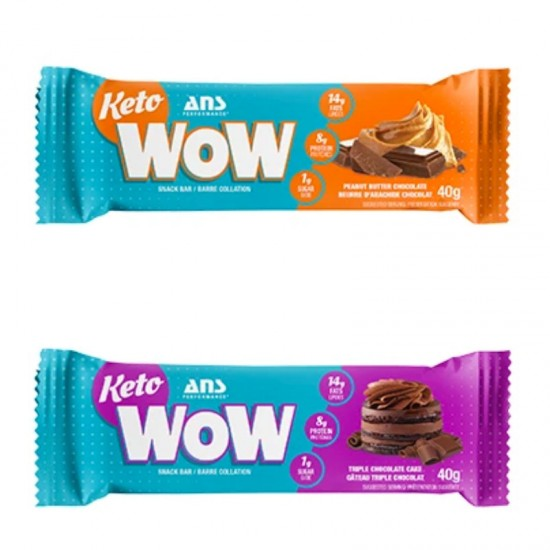 Keto ANS Wow Snack Bar Chocolate Peanut Butter