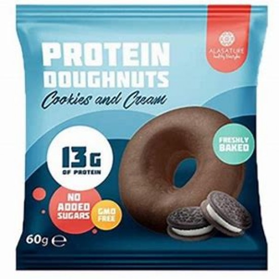 Alasature Protein Donut Cookies and Cream